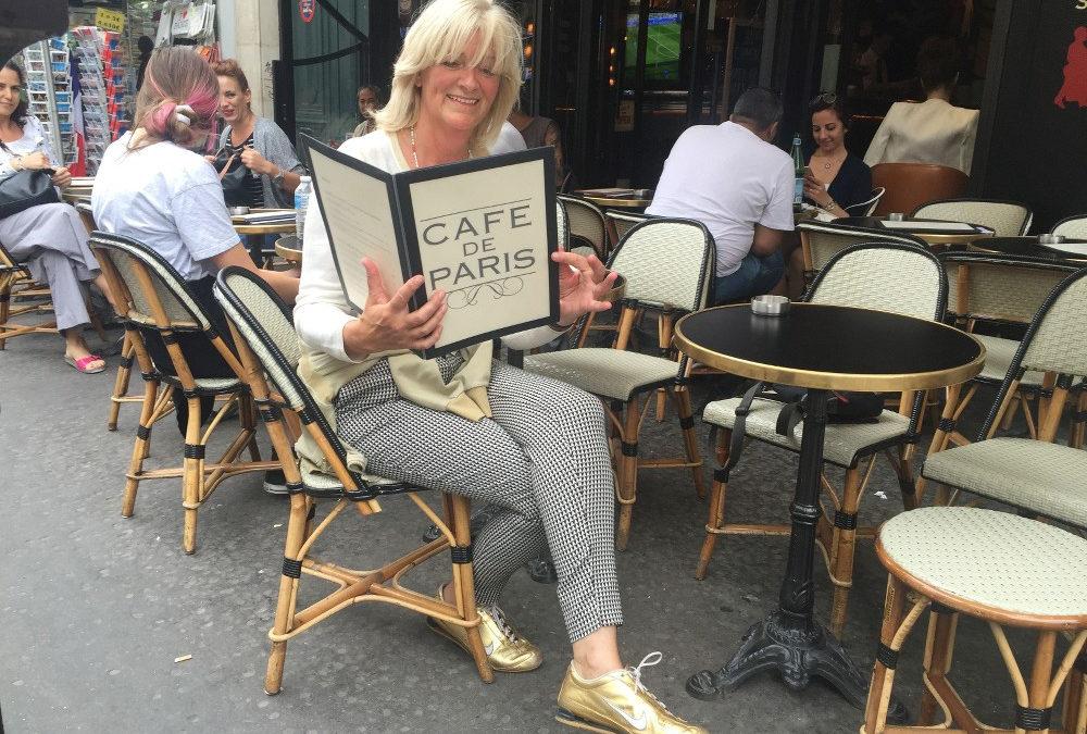 Zitten als een Parisienne