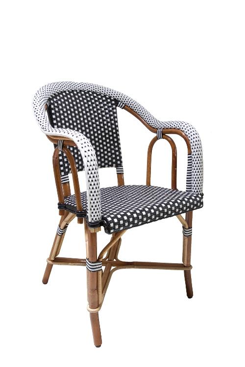 rotan-stoel-zwart-wit-armleuningen-zijkant-links