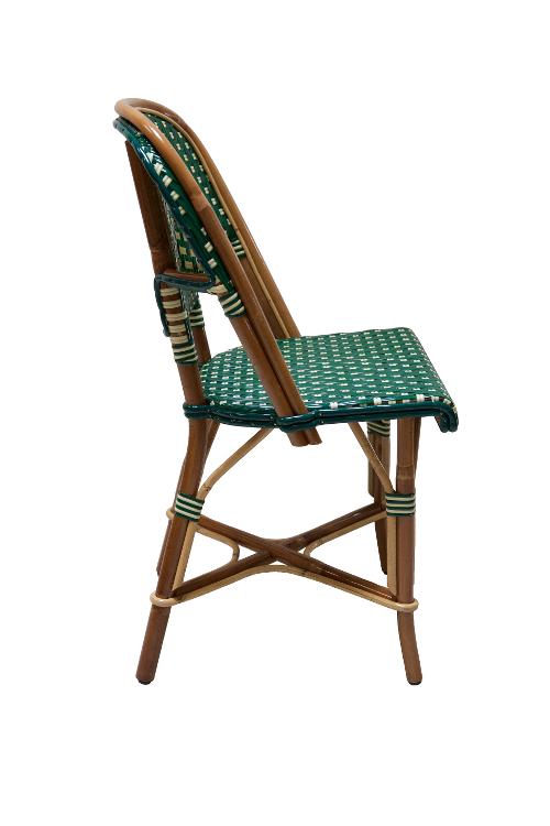 franse-rotan-stoel-kleur-groen-zijkant-rechts