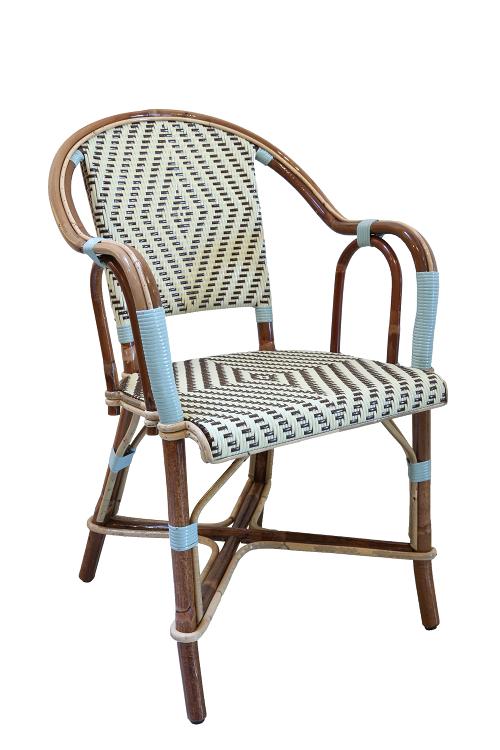 Pere-Tranquille fauteuil-rotanstoel